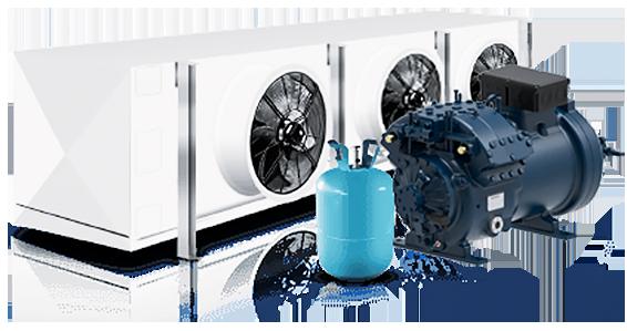 Эффективные промышленные холодильные системы